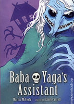 Book Cover, Baba Yaga's Assistant