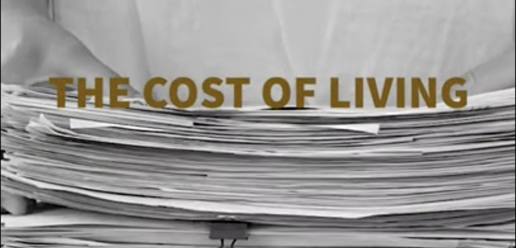 Anne Francey: The Cost of Living